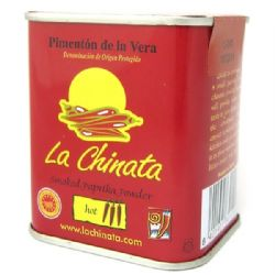 La Chinata Hot Spanish Smoked Paprika 70g | Picante | Pimenton de la Vera DOP | Buy Online | UK